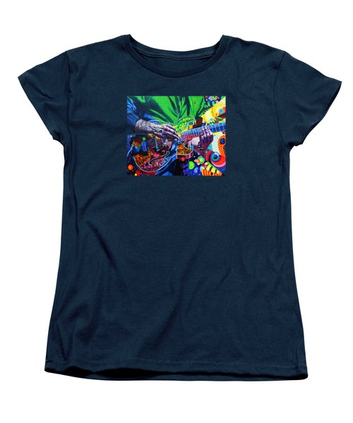 Trey Anastasio 4 Women's T-Shirt (Standard Cut) by Kevin J Cooper Artwork