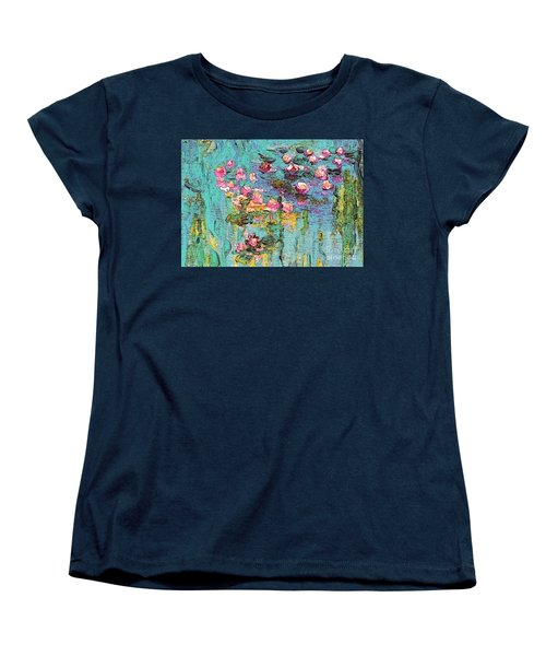 Tribute To Monet II Women's T-Shirt (Standard Cut) by Holly Martinson