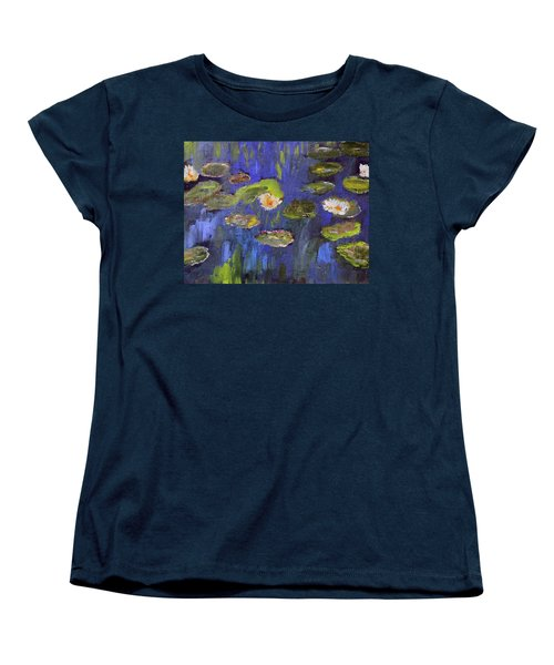 Tribute To Monet Women's T-Shirt (Standard Cut)