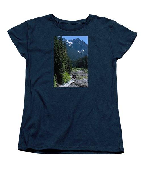 Trickling Women's T-Shirt (Standard Cut) by John Rossman