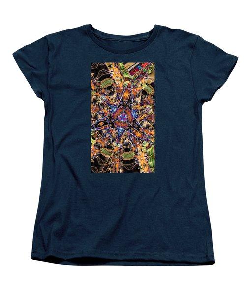 Tristar Women's T-Shirt (Standard Cut) by Ron Bissett