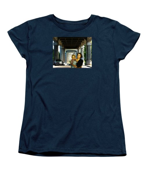 Women's T-Shirt (Standard Cut) featuring the photograph Troll Seekers by Timothy Bulone