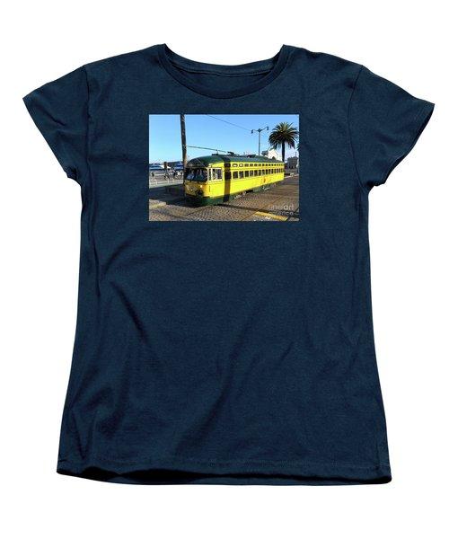Women's T-Shirt (Standard Cut) featuring the photograph Trolley Number 1071 by Steven Spak