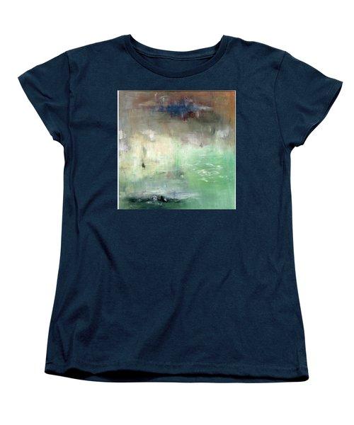 Tropic Waters Women's T-Shirt (Standard Cut) by Michal Mitak Mahgerefteh