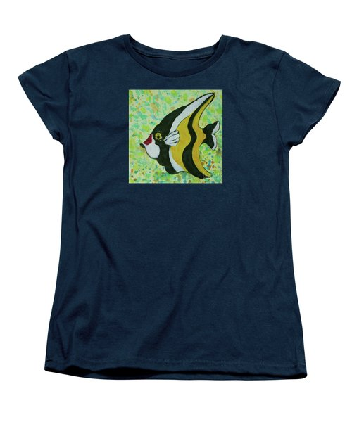 Tropical Fish Series 1 Of 4 Women's T-Shirt (Standard Cut) by Gail Kent
