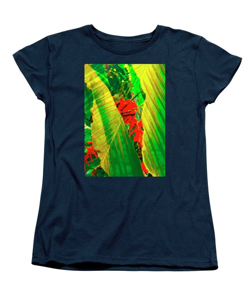 Tropical Fusion Women's T-Shirt (Standard Cut) by Stephen Anderson