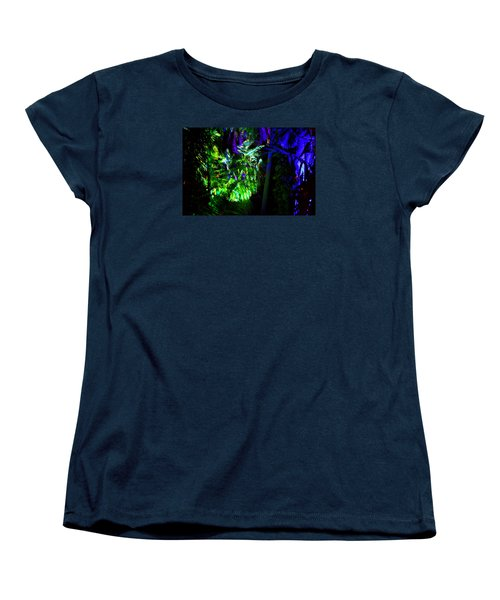 Women's T-Shirt (Standard Cut) featuring the photograph Into The Psychedelic Jungle by Richard Ortolano