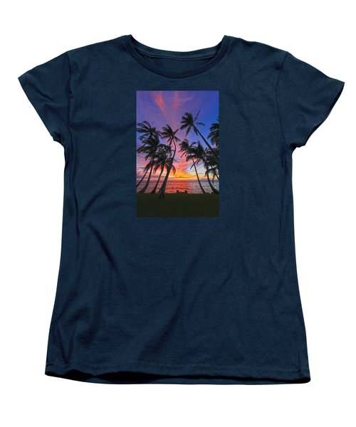 Tropical Nights Women's T-Shirt (Standard Cut) by James Roemmling