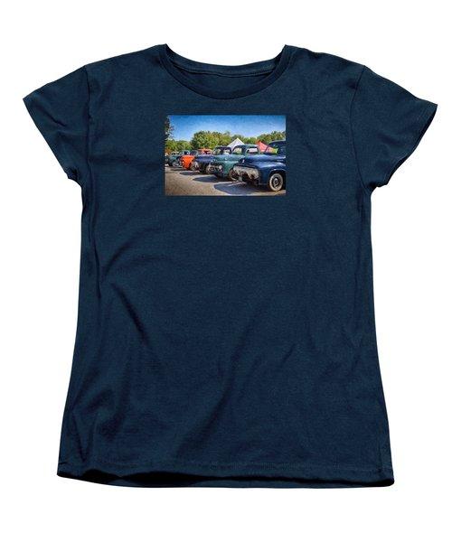 Trucks On Display Women's T-Shirt (Standard Cut) by Tricia Marchlik