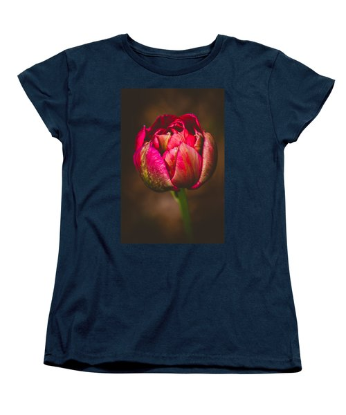 True Colors Women's T-Shirt (Standard Cut) by Yvette Van Teeffelen
