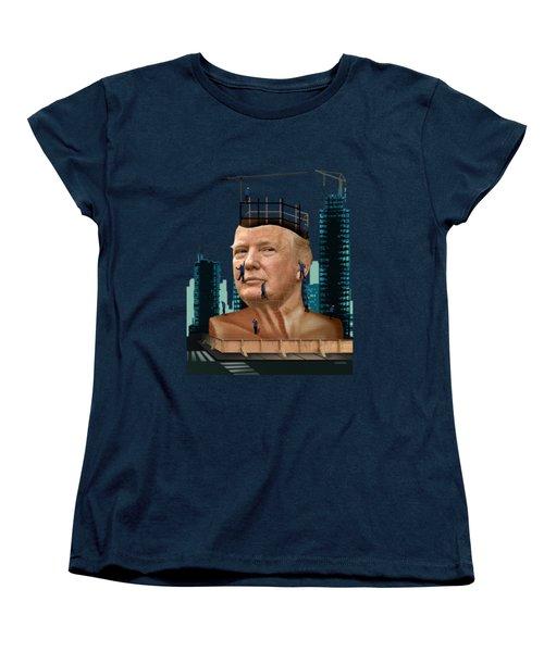 Trump Tower Women's T-Shirt (Standard Cut) by Joseph Juvenal