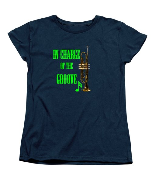 Trumpets In Charge Of The Groove 5535.02 Women's T-Shirt (Standard Cut) by M K  Miller