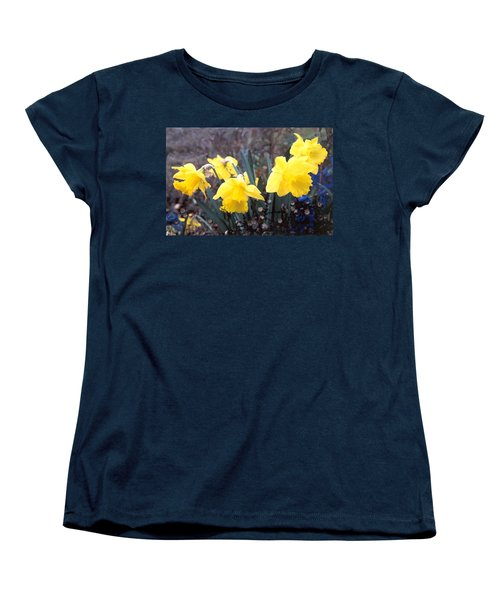 Trumpets Of Spring Women's T-Shirt (Standard Cut) by Steve Karol