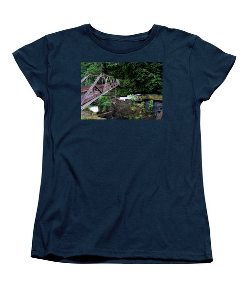 Women's T-Shirt (Standard Cut) featuring the photograph Trussting by Rhys Arithson