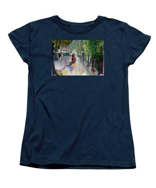 Tudo Street, Saigon 9 Women's T-Shirt (Standard Cut) by Tom Simmons