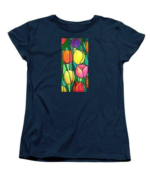 Tulip Expo Women's T-Shirt (Standard Cut) by Jim Harris