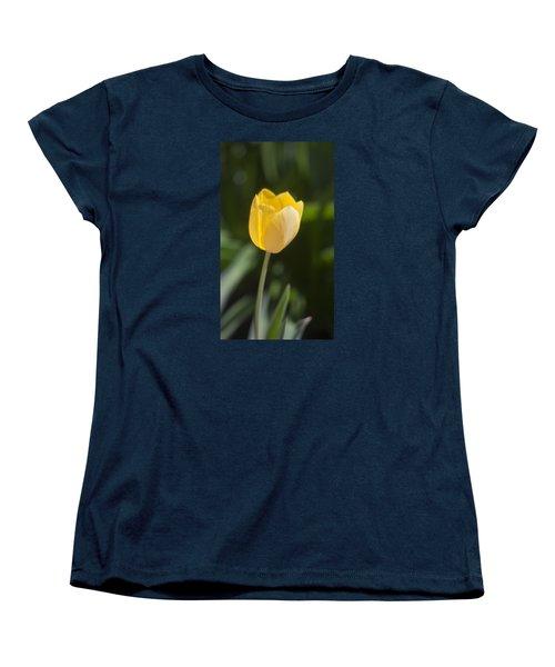 Tulip Portrait Women's T-Shirt (Standard Cut) by Morris  McClung