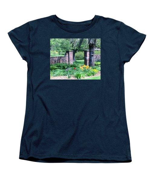 Tulips At Glen Magna Farms Women's T-Shirt (Standard Cut)