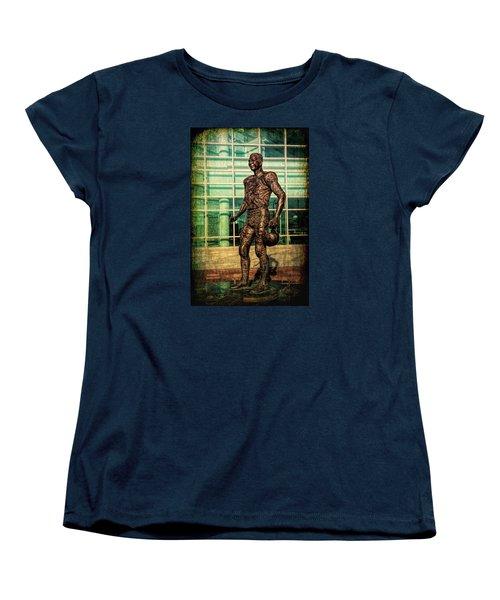 Women's T-Shirt (Standard Cut) featuring the photograph Tundra Titan by Trey Foerster
