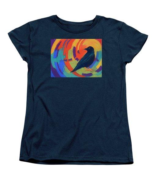 Tunnel Vision Women's T-Shirt (Standard Cut) by Nancy Jolley