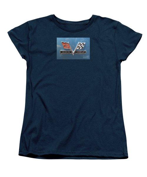 Women's T-Shirt (Standard Cut) featuring the photograph Turbo-jet by Rebecca Davis
