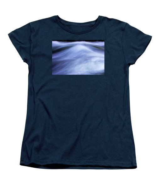 Women's T-Shirt (Standard Cut) featuring the photograph Turbulence 3 by Mike Eingle