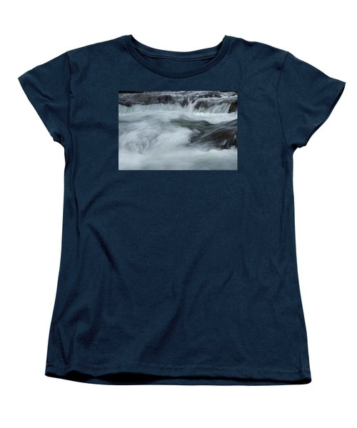 Women's T-Shirt (Standard Cut) featuring the photograph Turbulence  by Mike Eingle