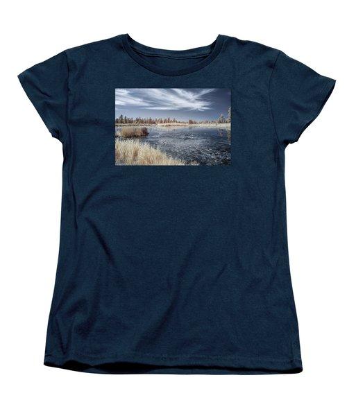 Turnbull Waters Women's T-Shirt (Standard Cut) by Jon Glaser