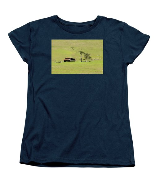 Women's T-Shirt (Standard Cut) featuring the photograph Turri Road - San Luis Obispo Ca by Art Block Collections
