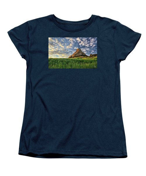 Turtle Rock At Sunset 2 Women's T-Shirt (Standard Cut) by Endre Balogh
