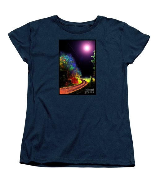 Women's T-Shirt (Standard Cut) featuring the photograph Twelve Dimensions Of Harmonic Delight by Susanne Still
