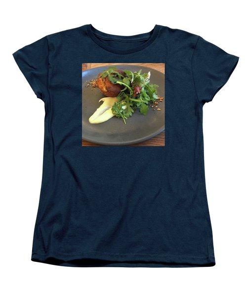Twice Baked Binham Blue Cheese & Walnut Women's T-Shirt (Standard Cut) by John Edwards