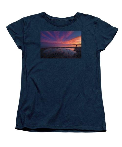 Twilight Time Women's T-Shirt (Standard Cut) by Ralph Vazquez