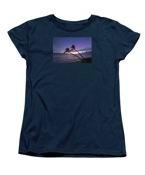 Twin Palms  Women's T-Shirt (Standard Cut) by James Roemmling