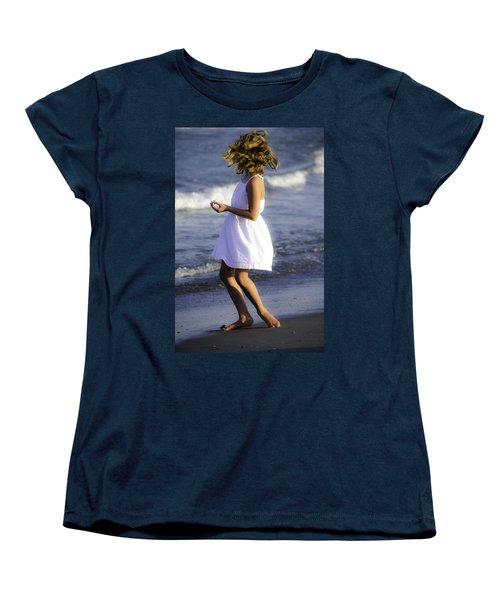 Twirling  Women's T-Shirt (Standard Cut) by Mary Ward