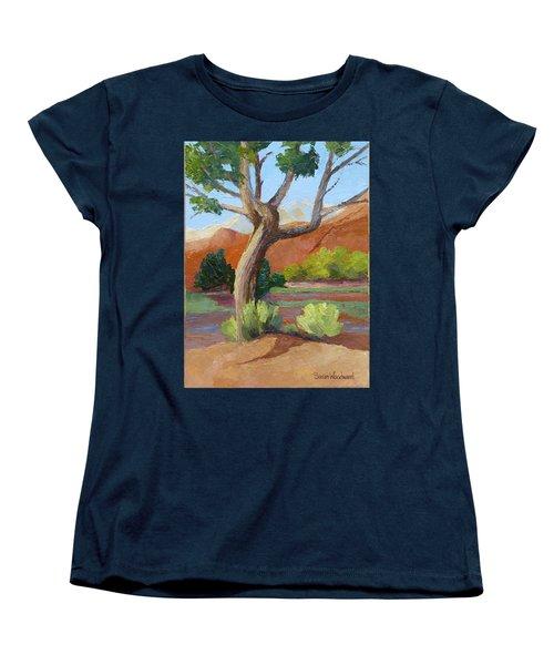 Twisted Women's T-Shirt (Standard Cut) by Susan Woodward