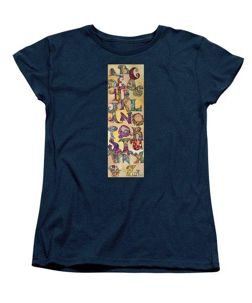 Twisty Women's T-Shirt (Standard Cut) by Claudia Cole Meek