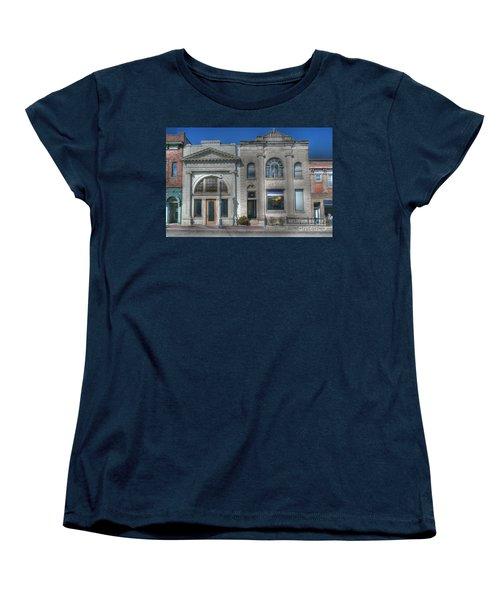 Two Banks Women's T-Shirt (Standard Cut) by David Bearden