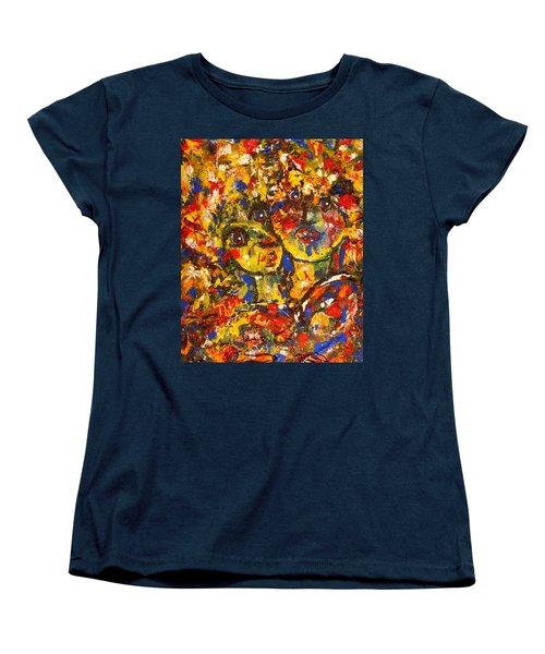 Two Best Friends Women's T-Shirt (Standard Cut) by Natalie Holland