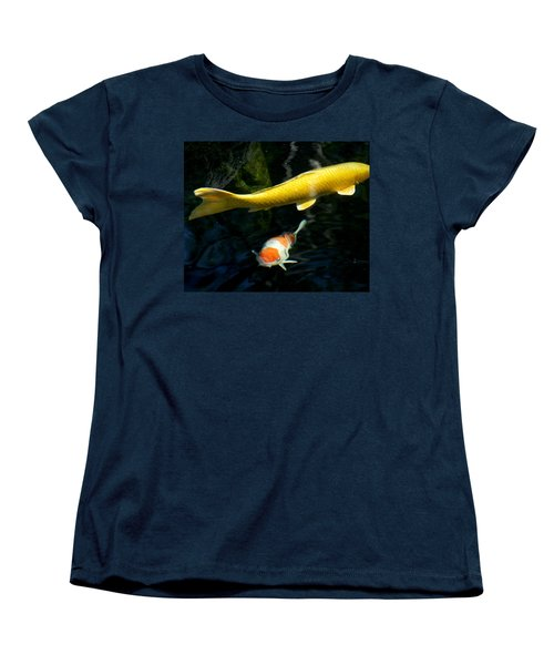Women's T-Shirt (Standard Cut) featuring the photograph Two Fish by Christopher Woods