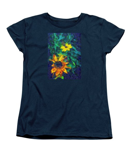 Two Flowers Women's T-Shirt (Standard Cut) by Carlee Ojeda