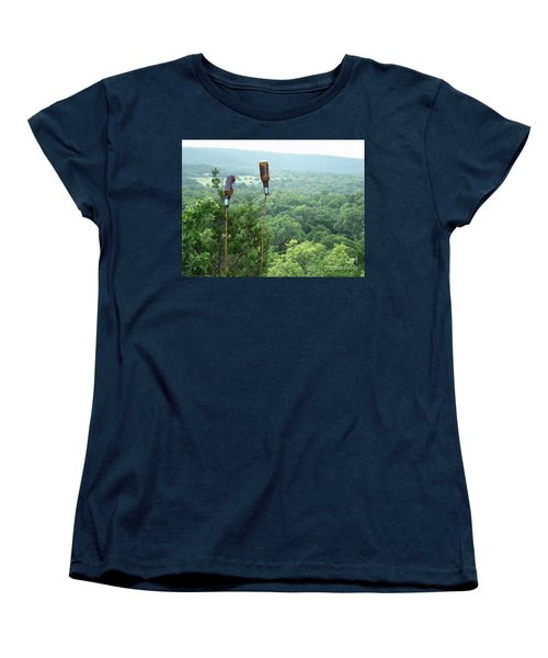 Women's T-Shirt (Standard Cut) featuring the photograph Two For The Road by Joe Jake Pratt