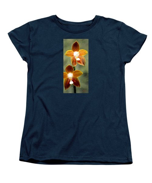 Women's T-Shirt (Standard Cut) featuring the painting Two Of Us by James Shepherd