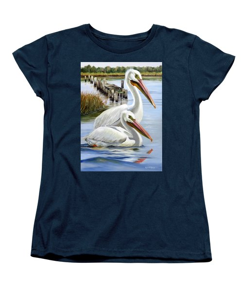 Two Part Harmony Women's T-Shirt (Standard Cut) by Phyllis Beiser