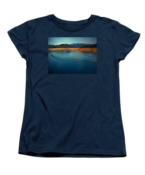 Two Shastas Women's T-Shirt (Standard Cut) by Joyce Dickens