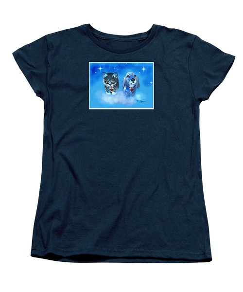 Two Sweeties Women's T-Shirt (Standard Cut)