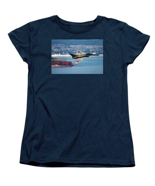 Typhoon Gina At Dawlish Air Show Women's T-Shirt (Standard Cut) by Ken Brannen