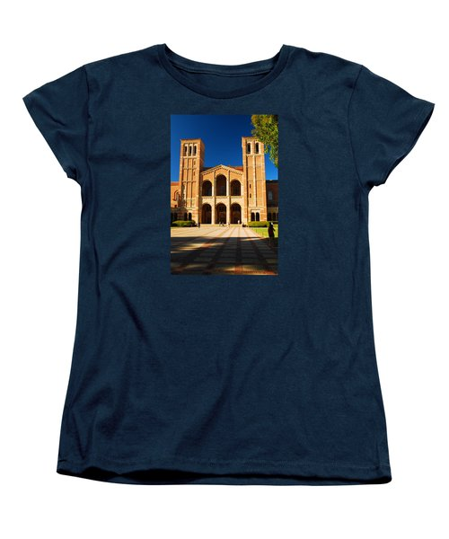 Women's T-Shirt (Standard Cut) featuring the photograph Ucla by James Kirkikis