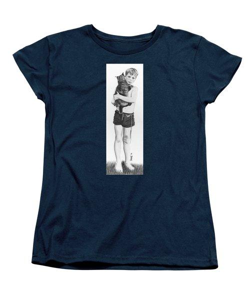 Uncle George Women's T-Shirt (Standard Cut) by Ferrel Cordle