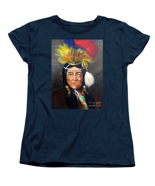Uncle Joe Women's T-Shirt (Standard Cut) by Lee Piper
